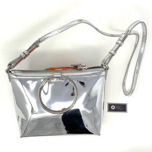 Kara Silver / Mirror Shoulder Strap Purse